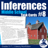 Making Inferences Task Cards #8 (5th-7th Grade)