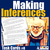 Making Inferences Task Cards 8 (STAAR Literary Nonfiction)
