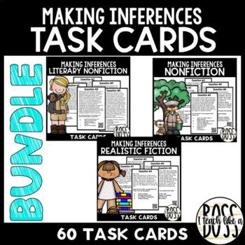 Making Inferences Task Cards Bundle
