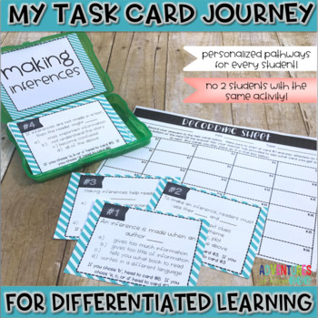 Making Inferences Task Cards (Differentiated)