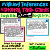 Making Inferences Task Cards Using Google Forms or Slides: