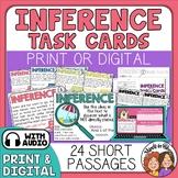 Making Inferences Task Cards and Google Slides Set 2 Readi