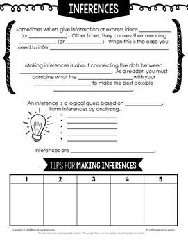 inferencing making inferences passages and activities for inferring. Black Bedroom Furniture Sets. Home Design Ideas