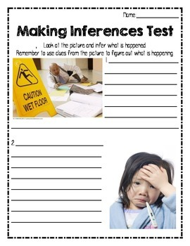 Making Inferences Test