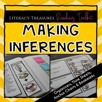 Making Inferences Think Sheets and Printables:  Make Inferring Visible