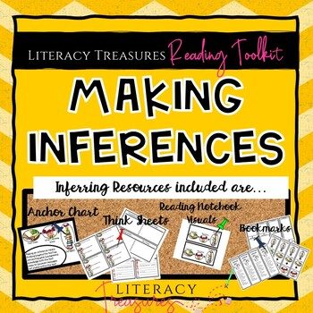 Inferring Think Sheets & Organizers Reading Toolkit  Distance Learning Friendly
