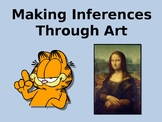 Making Inferences Through Art and Comics Presentation Lesson