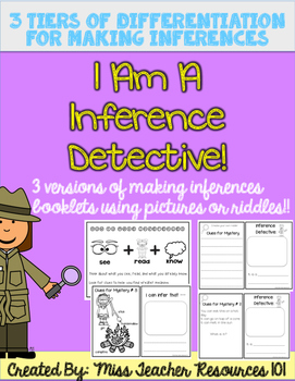 Making Inferences - Using Pictures OR Riddles