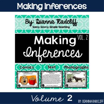 Making Inferences Vol. 2 {Standards Based}