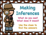 Making Inferences - What do you see? What does it mean?