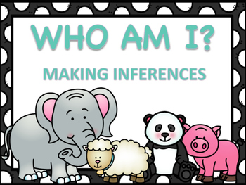 Making Inferences - Who am I?