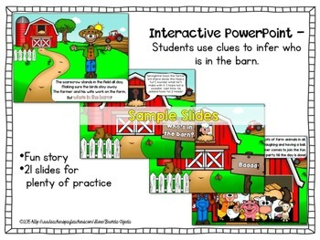 Making Inferences: Who's in the Barn?