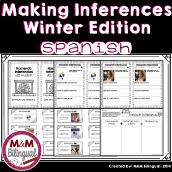 Making Inferences - Winter Edition {SPANISH}