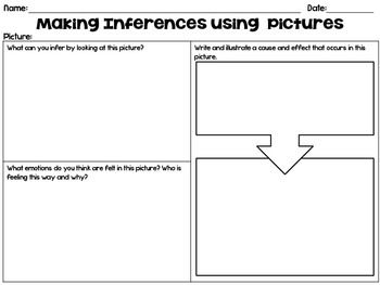 Making Inferences With Pictures