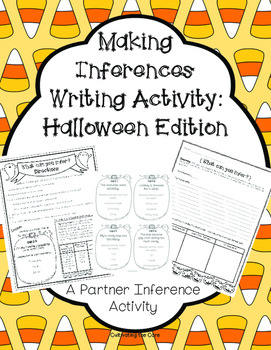 Making Inferences Writing Activity: Halloween Edition