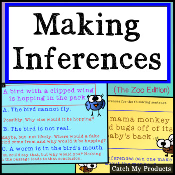 Making Inferences (Zoo Animals) for Promethean Board Use