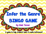 Making Inferences about Genre BINGO Game