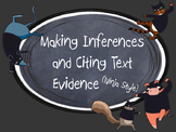 Making Inferences and Citing Text Evidence Ninja Style