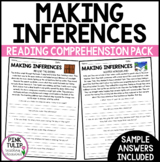 Making Inferences and Drawing Conclusions - Reading Worksheet Pack