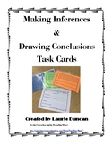 Making Inferences and Drawing Conclusions Task Cards