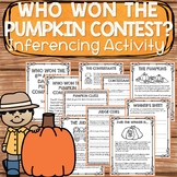 Making Inferences and Drawing Conclusions Fall Activity fo