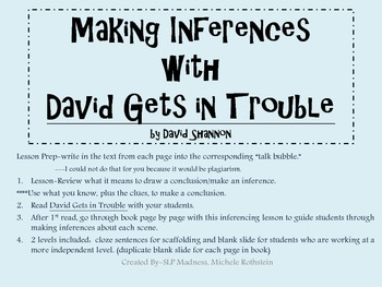 Making Inferences, Drawing Conclusions, Cause and Effect