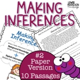 Inferencing Passages and Finding Text Evidence Bundle #2!