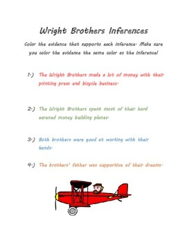 Making Inferences and Summarizing with the Wright Brothers