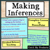 Drawing Conclusions and Making Inferences Passages in PowerPoint