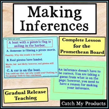 Making Inferences for Gifted Upper Elementary Students on Promethean Board