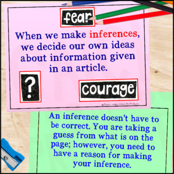 Making Inferences for PROMETHEAN Board