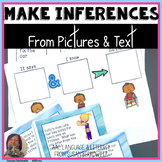 Making Inferences from Pictures and Text for speech langua