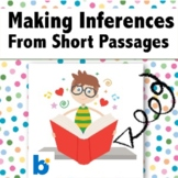 Making Inferences from Short Passages Boom Deck