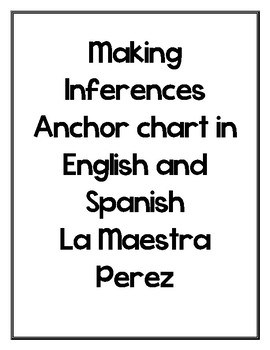 Making Inferences in English and Spanish