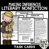 Making Inferences in Literary Nonfiction Task Cards