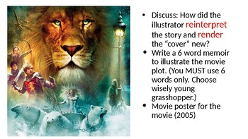 Making Inferences with  Chronicles of Narnia (book and movie)