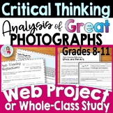 Critical Thinking Activities | Informational Text | Writing and Discussion