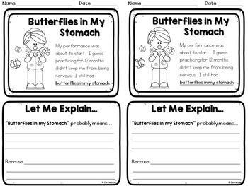 Making Inferences with Idioms - Figurative Language Practice