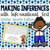 Making Inferences with Informational Text {Winter Sports Edition}
