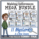 Making Inferences with Mysteries for Reading Comprehension