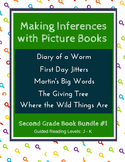 Making Inferences with Picture Books (Second Grade Book Bundle #1) CCSS