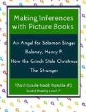 Making Inferences with Picture Books (Third Grade Book Bundle #2) CCSS