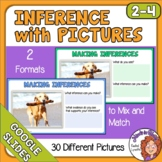 Making Inferences with Pictures Google Slides for Distance