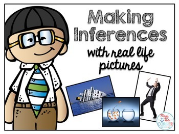 Making Inferences with Real Life Pictures