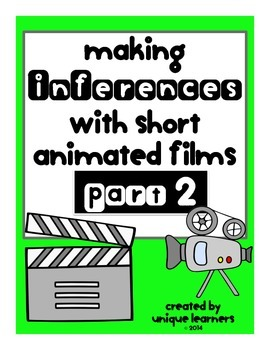 Making Inferences with Short Animated Films ~Part 2~