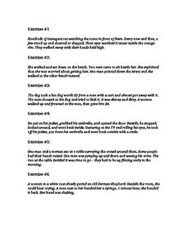 Making Inferences with Text (Scenarios) #1 (STAAR Practice)