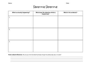 Making Inferences with a Defective Detective