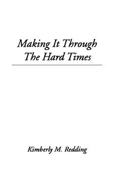 Making It Through the Hard Times ebook