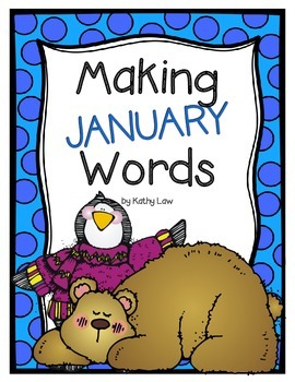 Making JANUARY Words