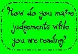Making Judgments Flipchart